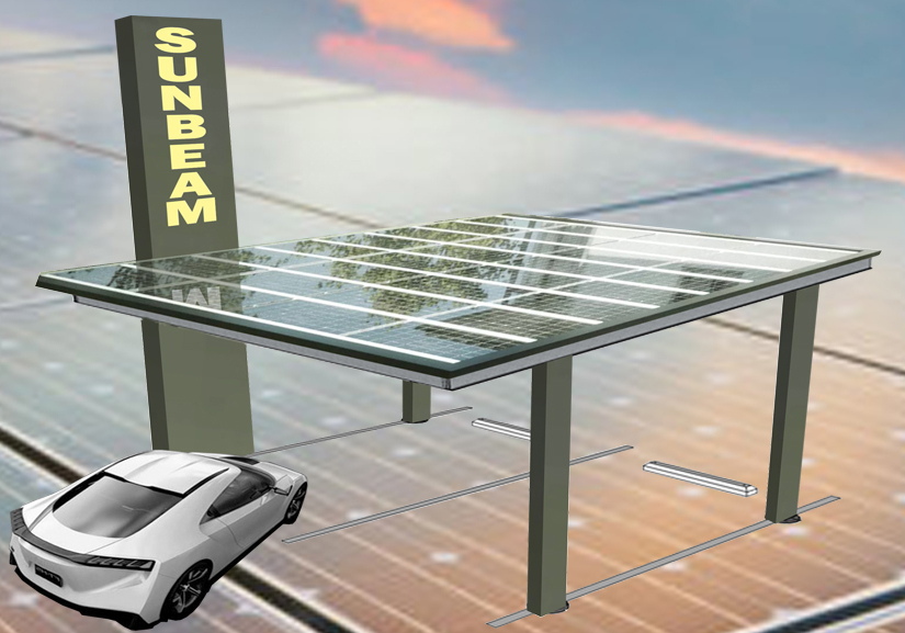 Sunbeam Solar Electric Car Port